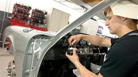 Porsche - Intérieur