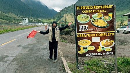 Lunchtime in Ecuador