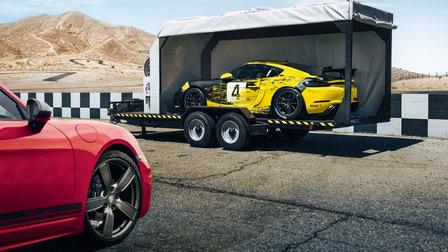 Porsche 718 Cayman T and 718 Cayman GT4 Clubsport