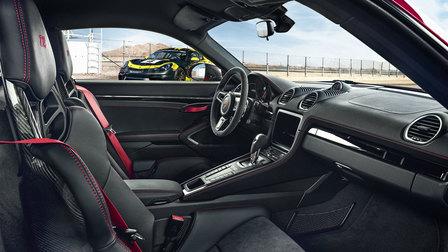 Interior of the 718 Cayman T