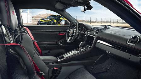 Porsche Interior of the 718 Cayman T