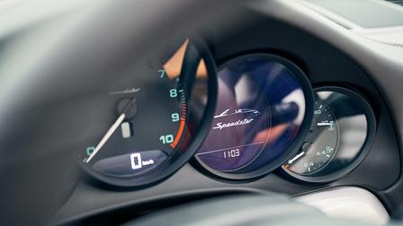 Cockpit of the 911 Speedster