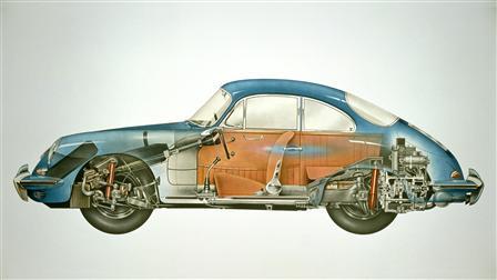 1962, 356B Coupé Phantombild