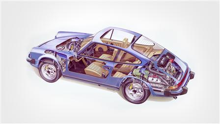 1979 (Mj.), 911 SC 3.0 Coupé Phantombild