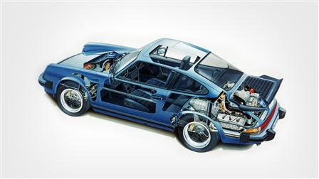 1989, 911 Carrera Phantombild
