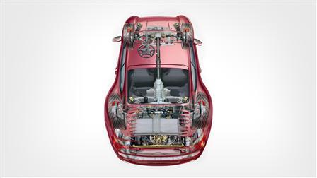 1996 (Mj.), 911 Turbo 3.6 Coupé Phantombild