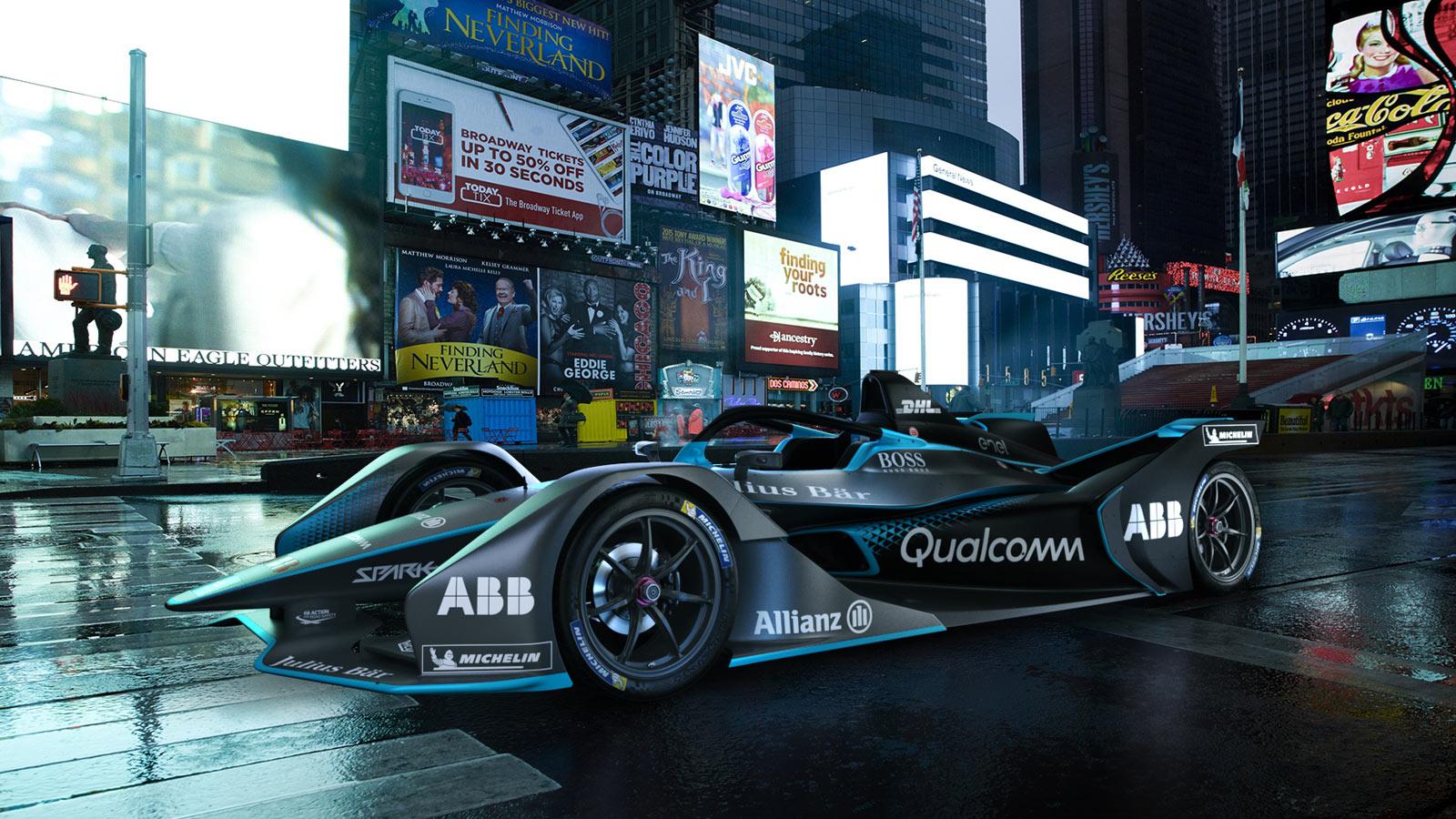 Porsche - Formula E The world's first all-electric racing series